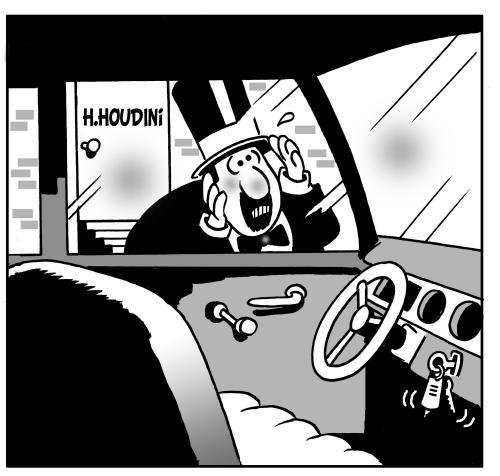 Houdini, llaves
