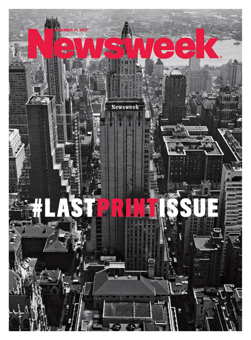 Newsweek, Final Cover
