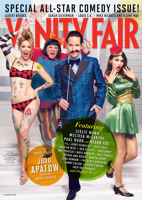 Vanity Fair january 2013