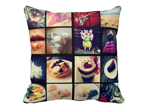 Instagram, almohada