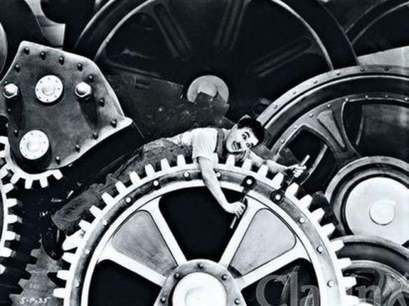 Chaplin, Tiempos modernos