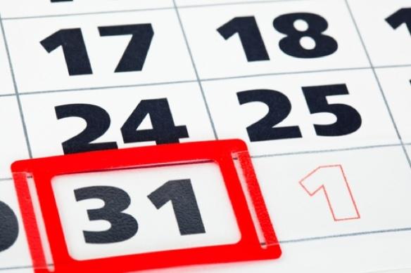 Calendario fin de año