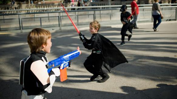 Star Wars, niños