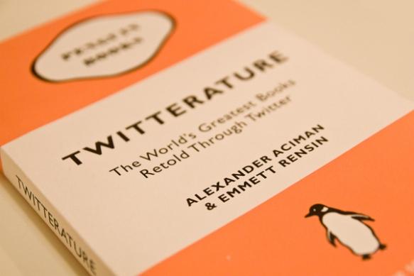 Twitterature, libro