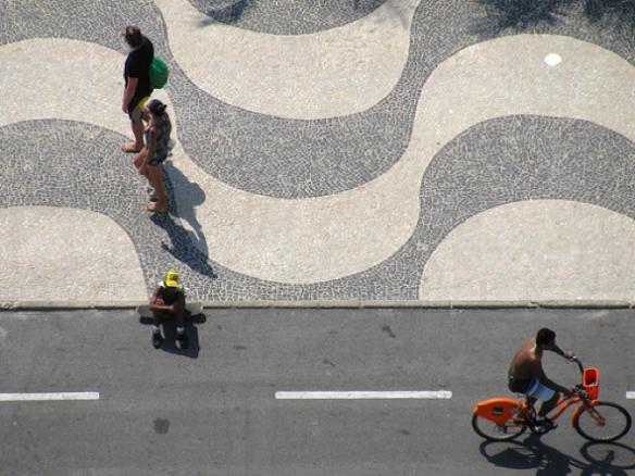 Copacabana, vereda